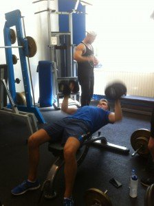 dumbell bench