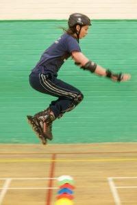 Skating - Davy jumping